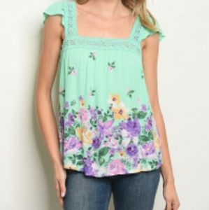 Tops - COMING SOON!!! Gorgeous sleeveless floral tunic